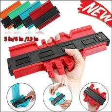 Plastic, rulersandprotractor, contourprofilegauge, Tool