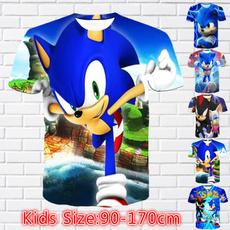 sonic, Plus Size, kids clothes, Shirt