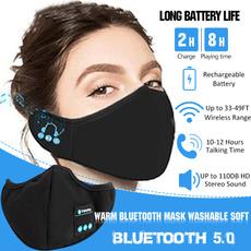 Headset, bluetoothearphonemask, wirelessearphone, Masks