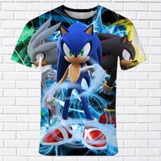 sonic, Short Sleeve T-Shirt, kids clothes, Shirt