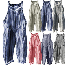 Women Pants, Feminino, Women Rompers, plaid