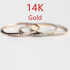 White Gold, stackablering, wedding ring, gold