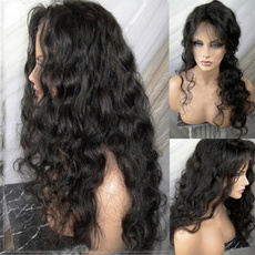 Black wig, wig, Lace, curlywigforwomen