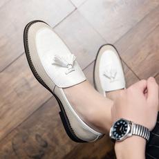 Tassels, Moda, casualleathershoesformen, leather