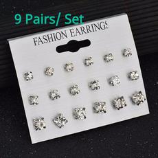 Steel, Jewelry, gold, Stud Earring