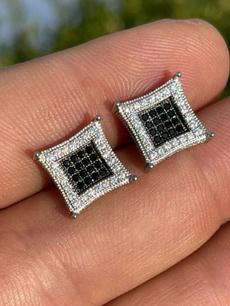 Sterling, DIAMOND, Black Diamond, Jewelry