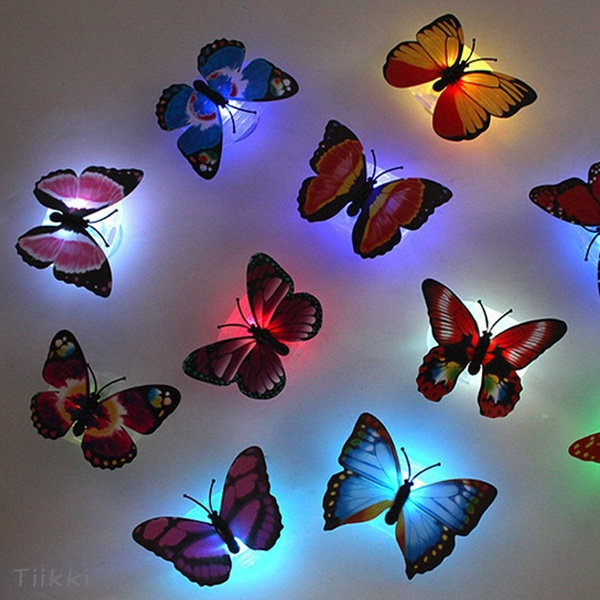 butterfly, cute, Decor, led