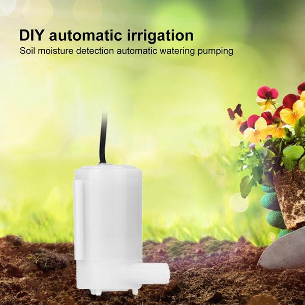 irrigation, Flowers, Garden, soil