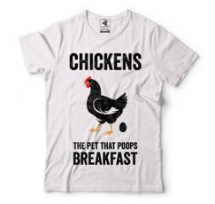 chickebreakfastshirt, chickentshirt, T Shirts, foodshirt