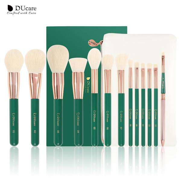 Green, Professional Makeup Brush Set, eye, Professional Makeup Brushes