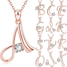 Necklace, loversgift, DIAMOND, Jewelry
