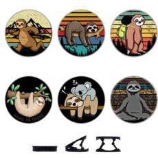 sloth, popsocket, blackearphne, phone holder
