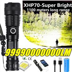 Flashlight, water, Bright, Outdoor