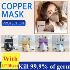 washable, Copper, Masks, n95