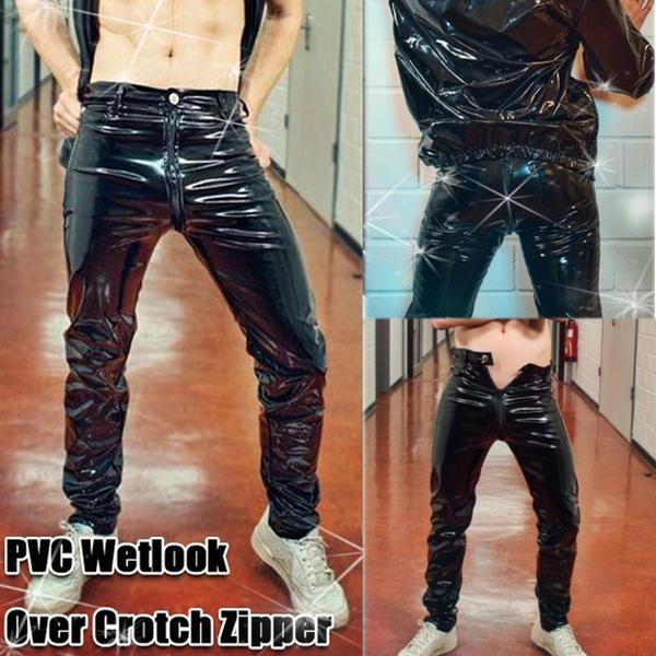 latex, trousers, Men's Fashion, men trousers