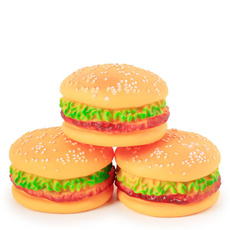 Funny, dogchewball, rubberhamburger, fetchingtoy