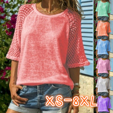 Tops & Tees, Plus Size, Lace, Summer