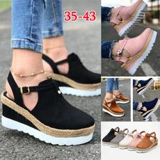 wedge, Sandals, Fashion, summersandal