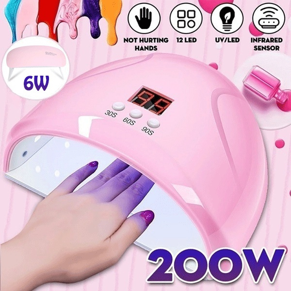 nailuvlight, Machine, naillamp, manicure