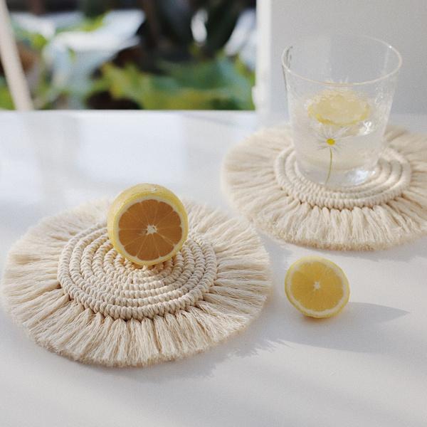 bohemia, Braids, Coasters, tablewareplacemat