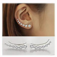 Hoop Earring, Jewelry, Crystal Jewelry, ear studs