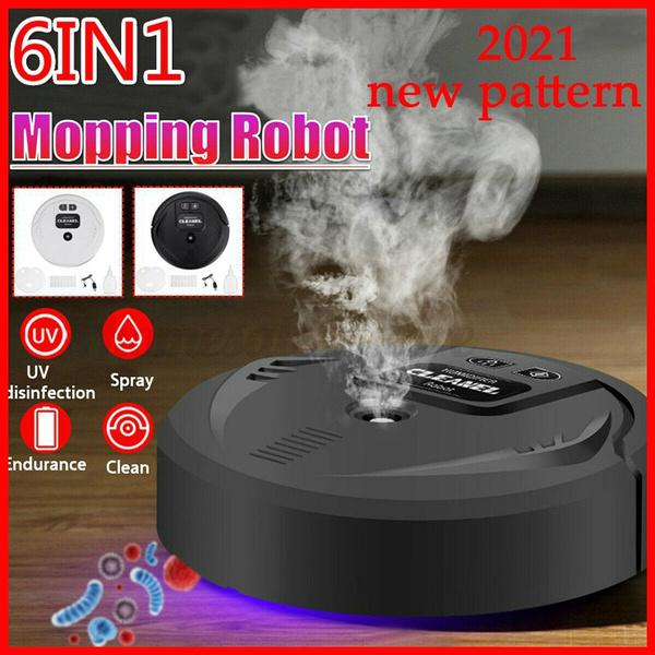 aspiradorarobot, mülleimer, vacuumcleanerrobot, uv