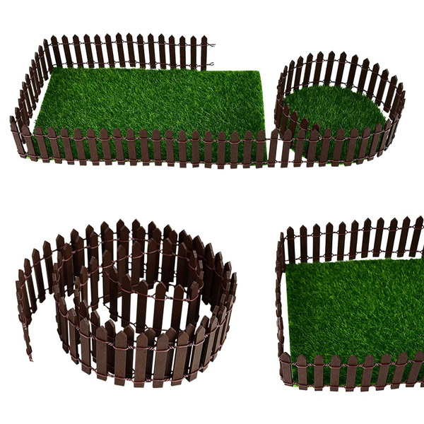 Mini, woodenfence, Toy, Garden