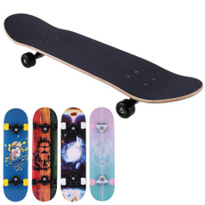 sportsandentertainment, mapledeckskateboard, teensflatplateskateboard, Scooter