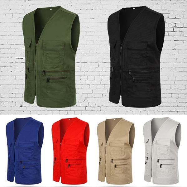 Jacket, Vest, fishingvest, Men's vest