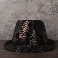 leatherfedorahat, Fedora, leather, Hats