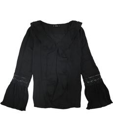 blouse, Fashion, ruffle, solid
