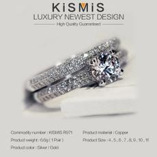 stackableringsset, DIAMOND, Jewelry, gold