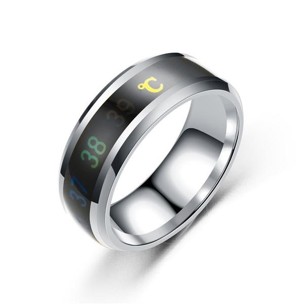 Couple Rings, Steel, Jewelry, Waterproof