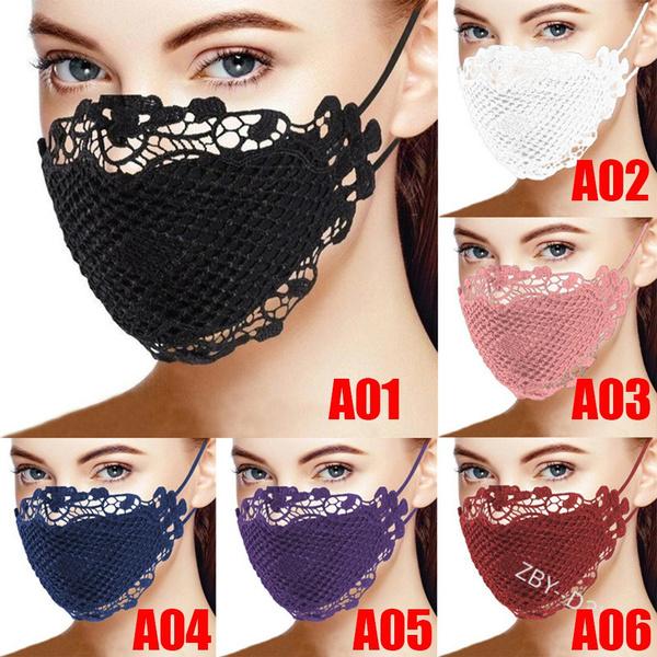 washable, Cotton, Fashion, halffacemask