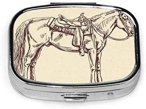 case, Box, horse, pillbox