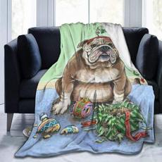 Fleece, lightweightblanket, Christmas, Home & Living
