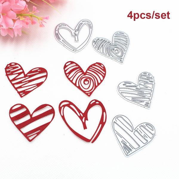 Heart, stencil, Love, papercutting