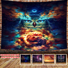 Owl, Wall Art, Home Decor, psychedelictapestry