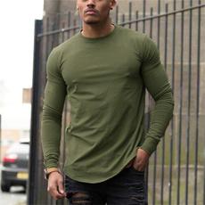 Fashion, Shirt, Fitness, Long sleeved