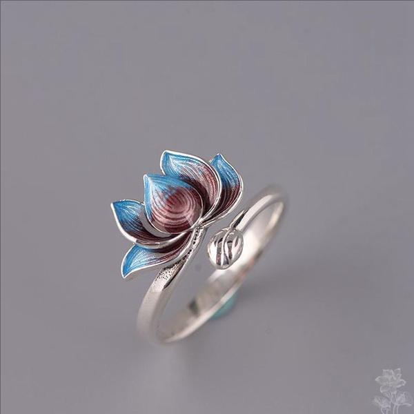 adjustablering, Flowers, Jewelry, Women jewelry