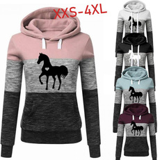 Couple Hoodies, horse, Plus Size, Hoodies & Sweatshirts