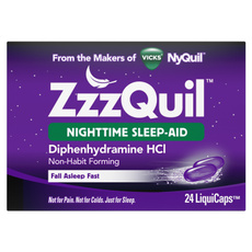 zzzquil, sleepformula, Vitamins & Supplements, zzzquilnighttimesleepaid