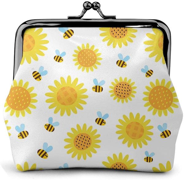 smallpurse, Purse Organizer, Keys, Sunflowers