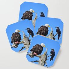 avian, Coasters, Mats, Wooden