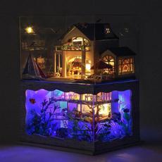 Gifts, handmadedollhouse, Dollhouse, buildingmodel