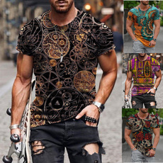Summer, Fashion, Personalized T-shirt, Tops