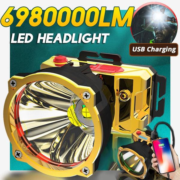 Flashlight, fishinglight, LED Headlights, led