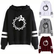 Fashion, Sleeve, sevendeadlysin, Tops