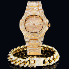 hip hop jewelry, gold, Watch, Fashion Accessories