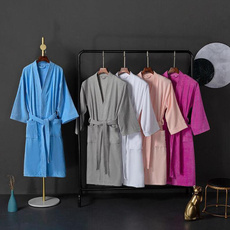 nightwear, Bathrobe, Nightgown, Collar